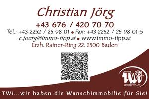 Christian Jörg - Visitkarte